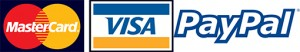 Visa and Master Cards Accepted
