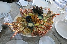 seafood platter for 4 - Picture of Two Oceans Restaurant, Cape ...